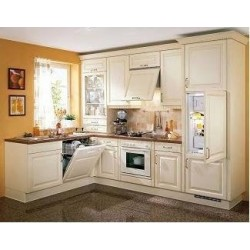 (38) Klassieke keuken met Opzetkast