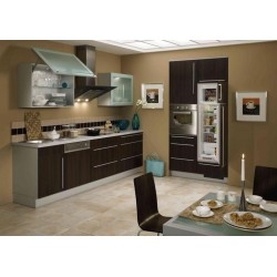 (7) Retro keuken met klepkast