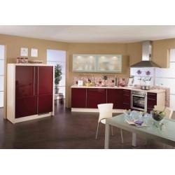 (21) Stijlvolle Keuken met Glaskasten