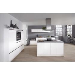 (29) Fantastische greeploze eilandkeuken met koelkast vriezer vaatwasser oven en kookplaat